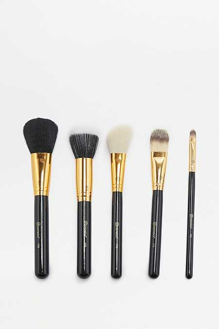 Slide View: 1: bh cosmetics Face Essential Make-Up Brush 5-Pack