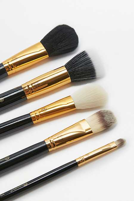 Slide View: 2: bh cosmetics Face Essential Make-Up Brush 5-Pack