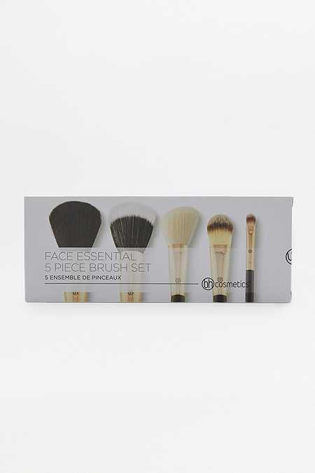 Slide View: 3: bh cosmetics Face Essential Make-Up Brush 5-Pack