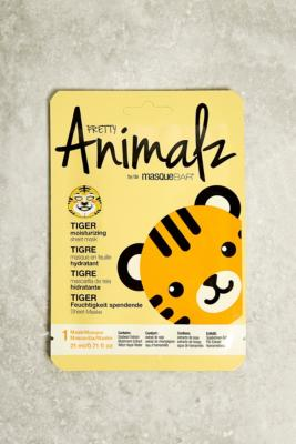 Look Beauty - Look Beauty Animalz Fibre Face Mask, Orange