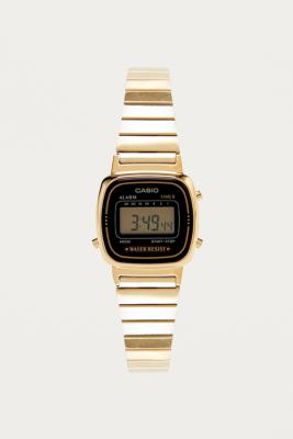 Casio Black Mini Face Watch – Womens ALL