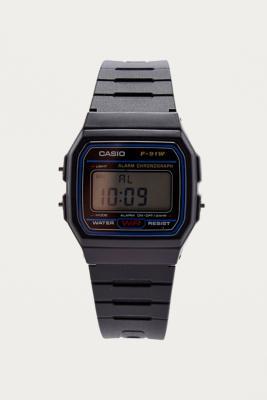 Casio Casual Black Digital Watch - Womens ALL