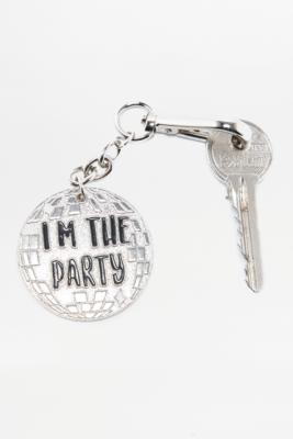 skinnydip-disco-party-silver-keyring-womens-all