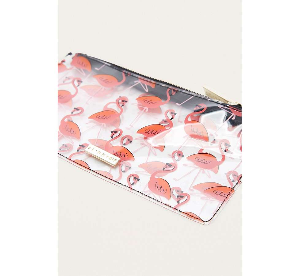 Slide View: 2: Skinnydip Flamingo Wallet