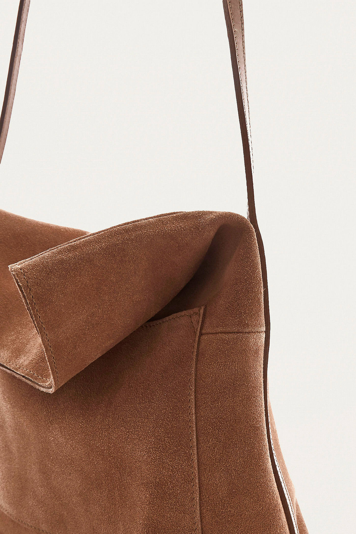 Tan Suede Messenger Bag | Urban Outfitters