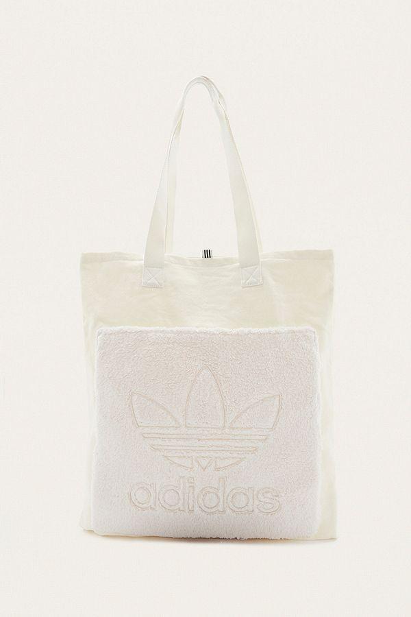 Adidas Originals Trefoil Canvas Tote Bag
