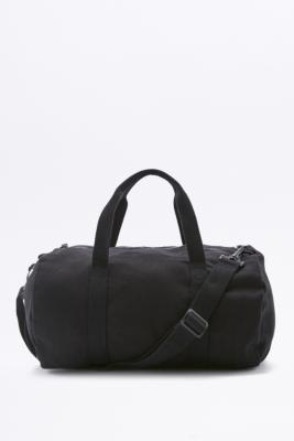 BDG Mini Black Canvas Gym Bag