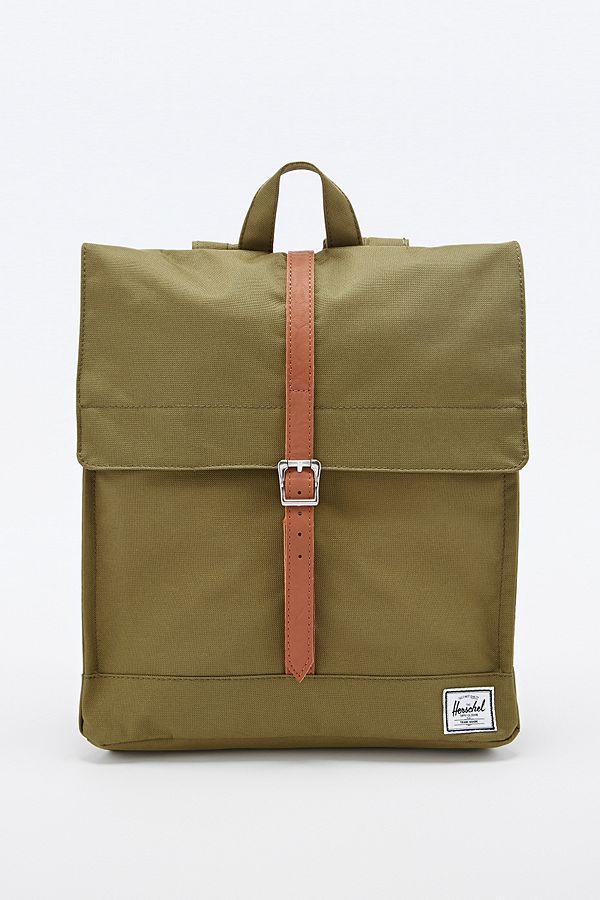 Herschel Supply co. City Backpack in Army Green  17929dce3f337