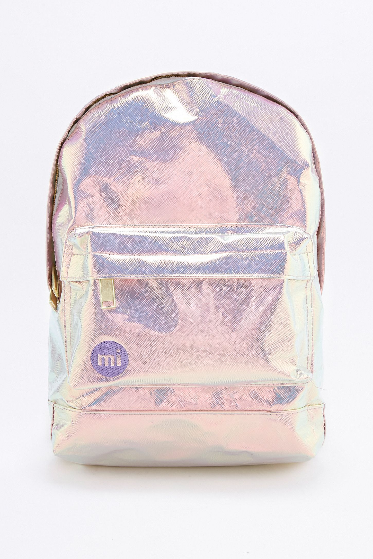 85e19d5d4d Silver Holographic Mini Backpack- Fenix Toulouse Handball