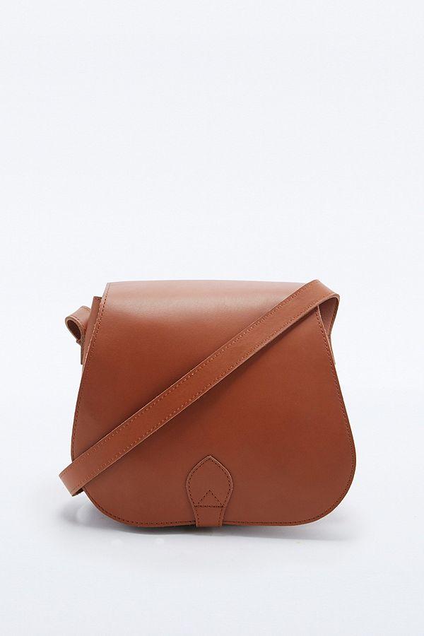 Slide View 1 Sandqvist Leather Saddle Bag