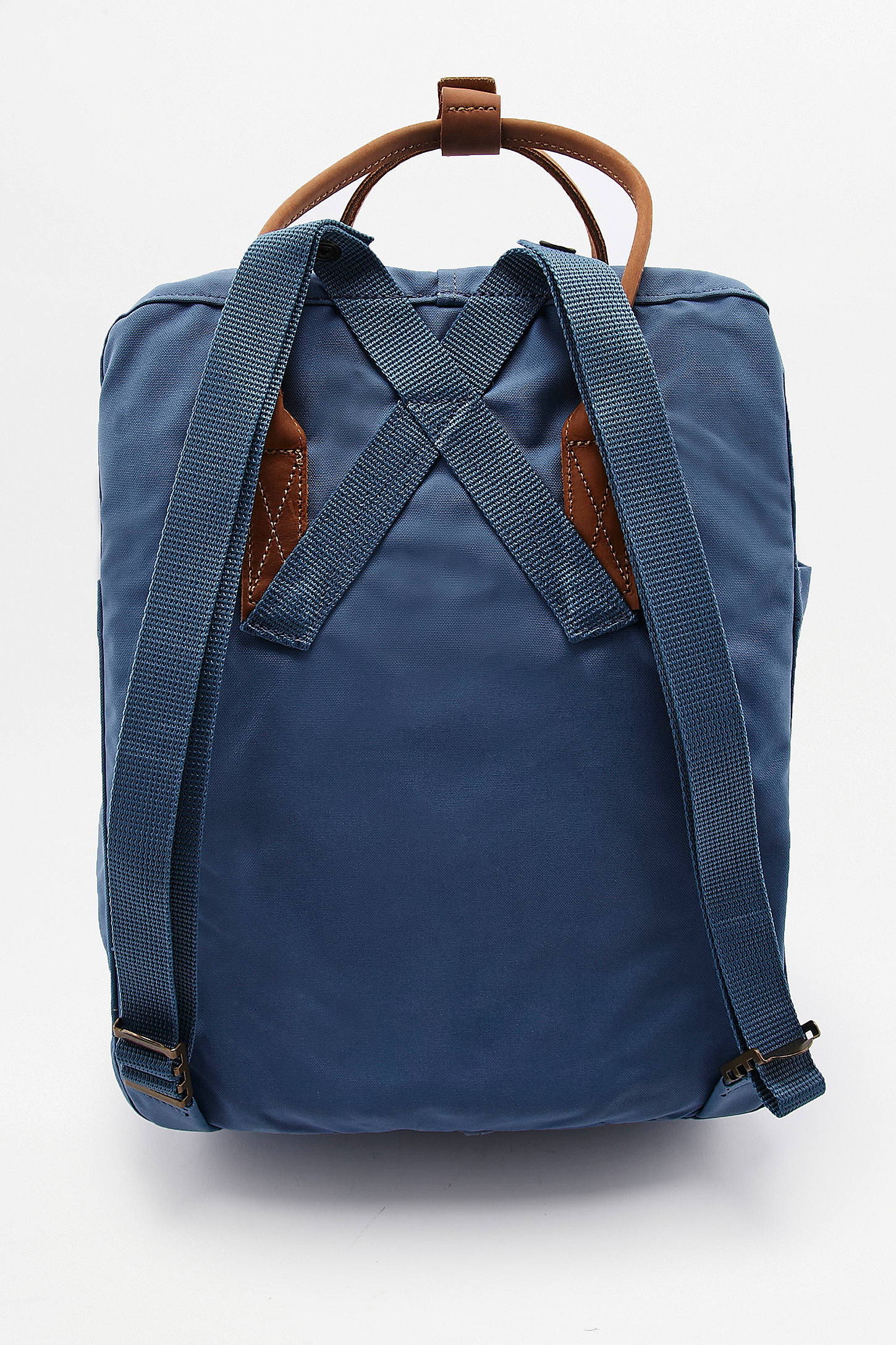 Fjallraven Kanken No. 2 Blue Ridge Leather Backpack | Urban Outfitters