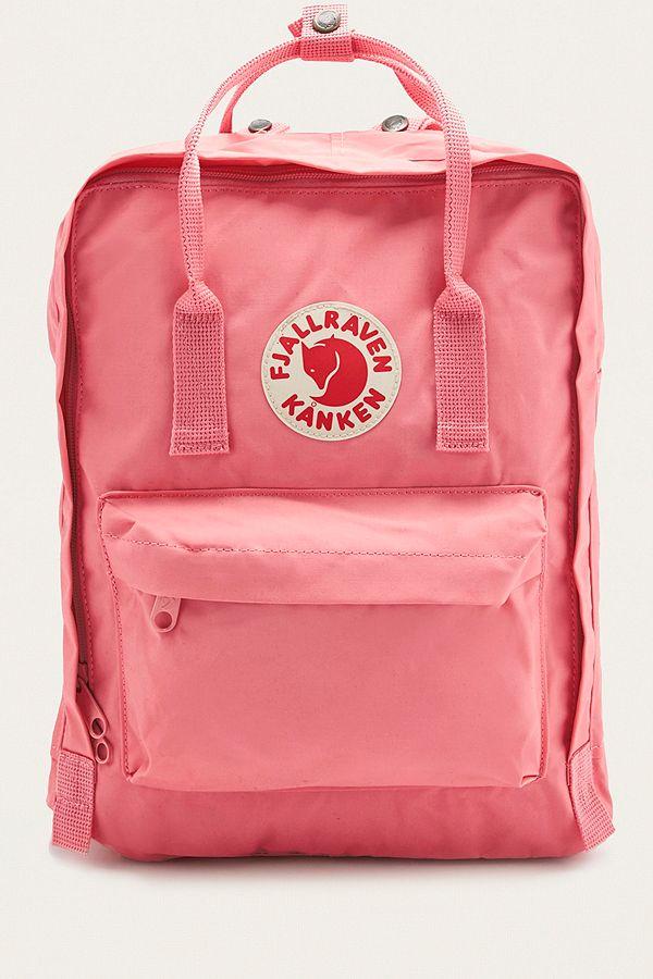 Slide View 2 Fjallraven Kanken Classic Pink Backpack
