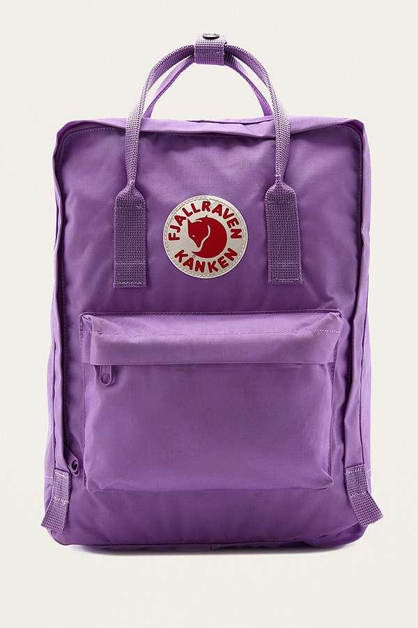 Slide View: 1: Fjallraven Kanken Orchid Backpack