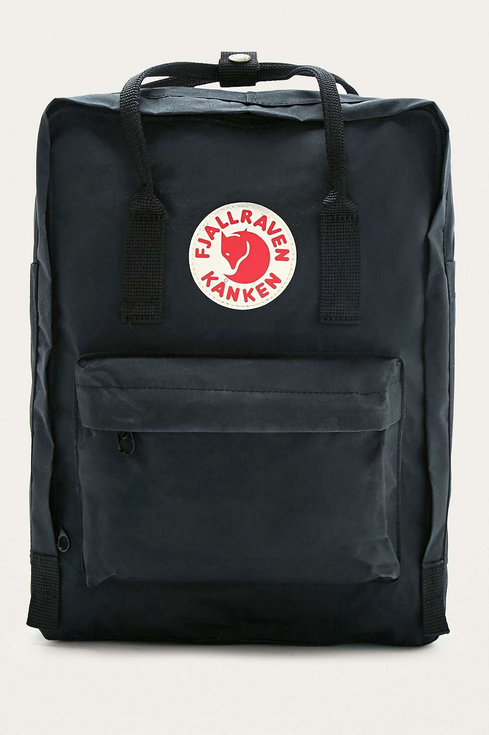 Fjallraven Kanken Classic Black Backpack   Urban Outfitters