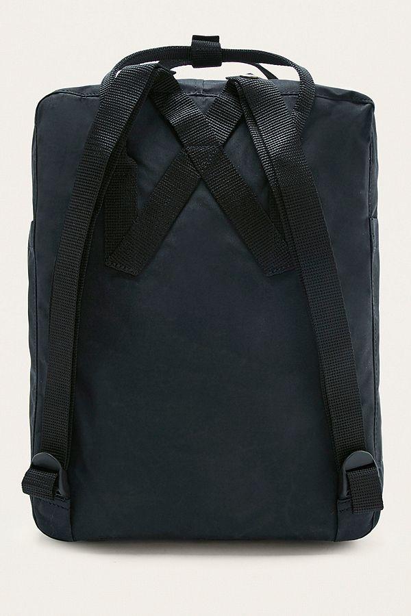 Fjallraven Kanken Classic Black Backpack   Urban Outfitters UK 04f80adaea1