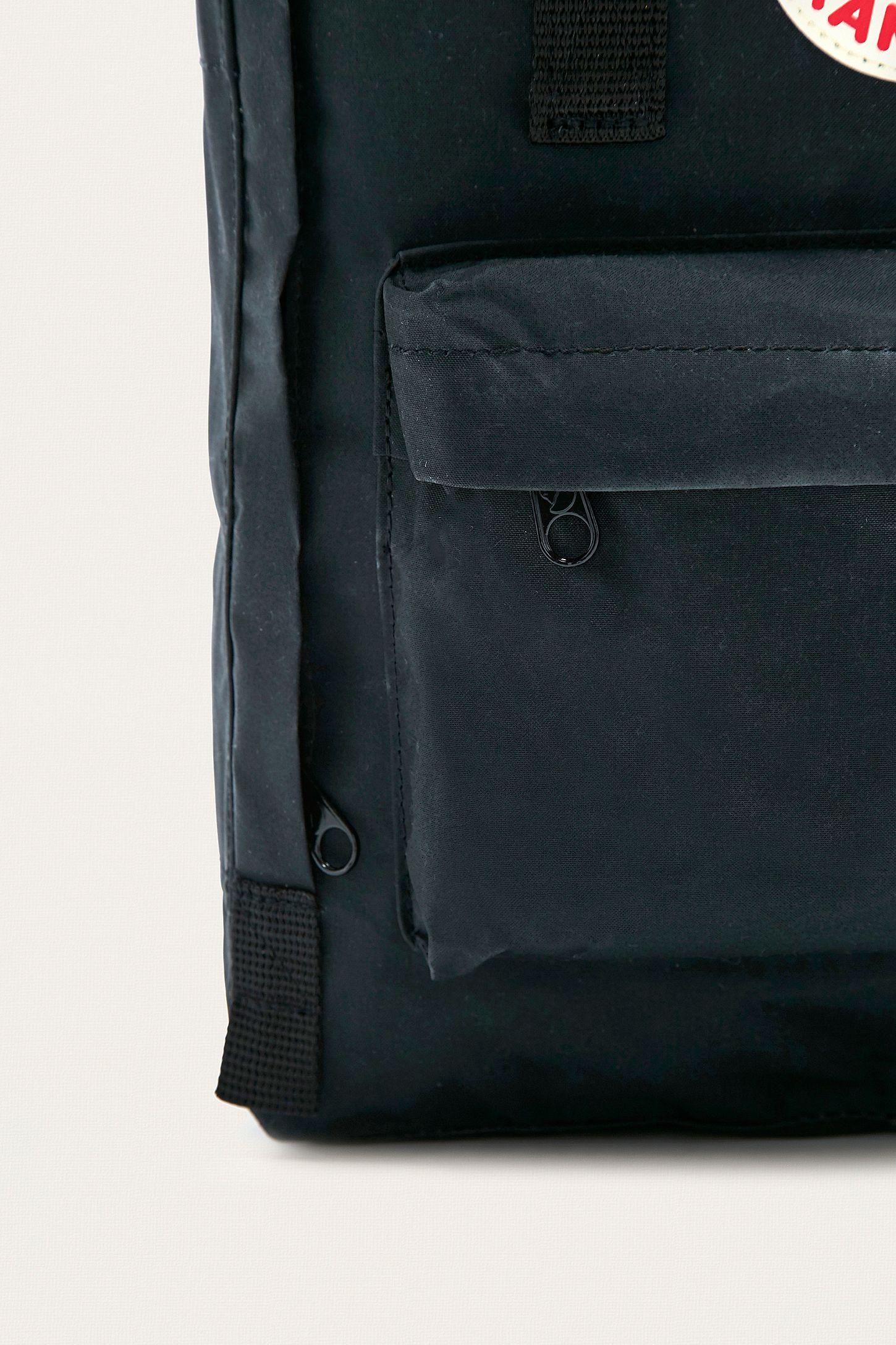 Kanken Backpack All Black Fjallraven No2 Full