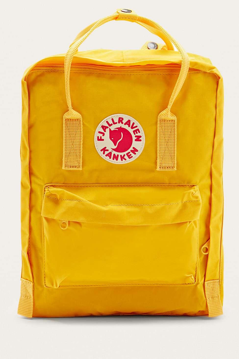 Fjallraven Kanken Classic Warm Yellow Backpack Urban