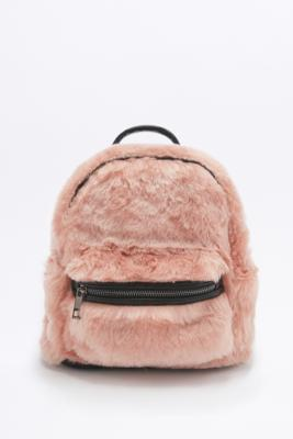 Faux-Fur Mini Backpack | Urban Outfitters