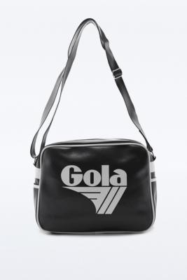 Gola Redford Black and White Messenger Bag Black