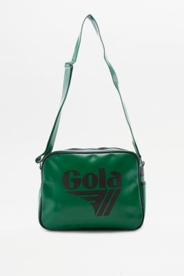 Gola Redford Green and Black Messenger Bag Green
