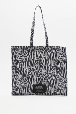 cheap-monday-modern-zebra-tote-bag-womens-all