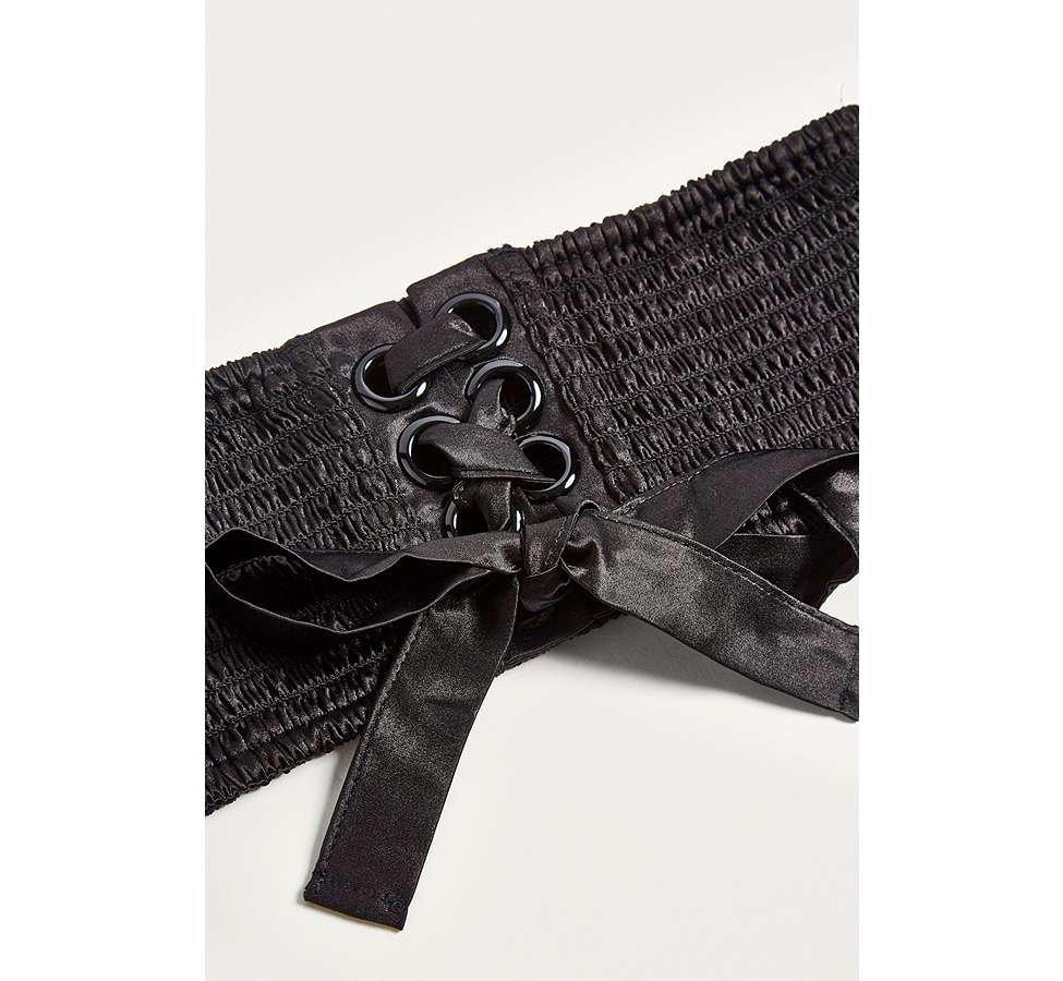 Slide View: 3: Olivia Satin Corset Belt