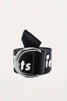 iets frans... - iets frans…  Slogan D-Ring Belt, Black