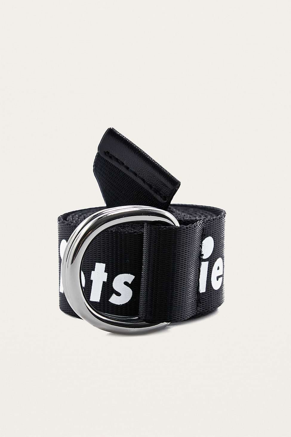 iets frans…  Slogan D-Ring Belt, Black
