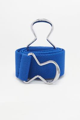 Urban Outfitters - Elastic Sporty Clip Belt, Blue