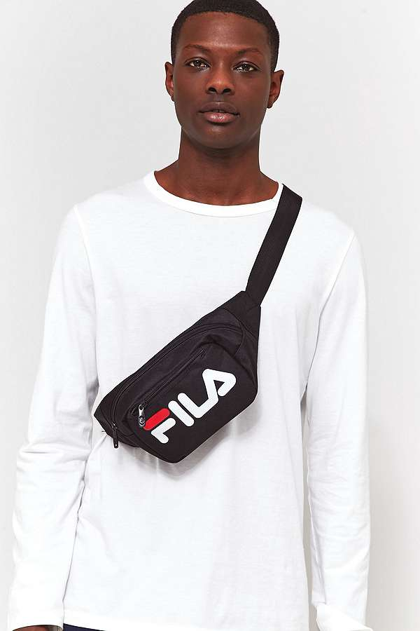 fila adams peacoat courier cross body bag urban outfitters. Black Bedroom Furniture Sets. Home Design Ideas