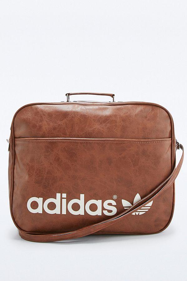 adidas Originals Brown Vintage Airline Bag  1527deeb1c