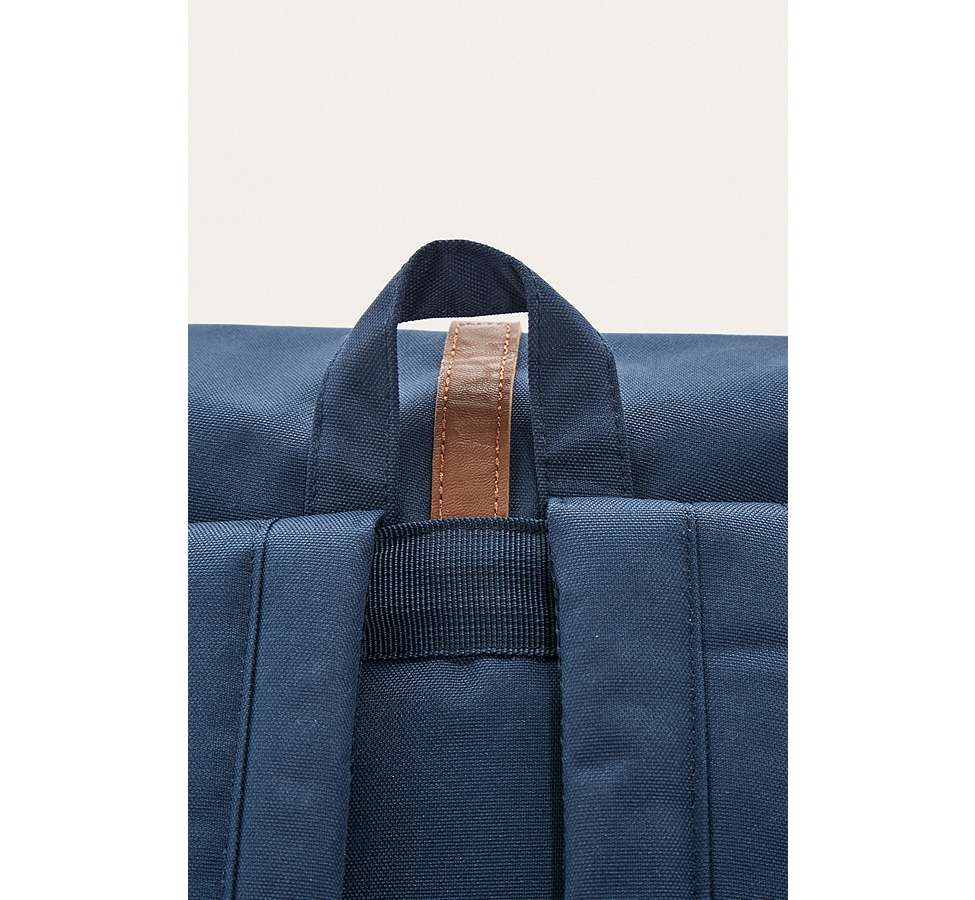 Slide View: 6: Herschel Supply Co. Dawson Navy Rugby Stripe Backpack