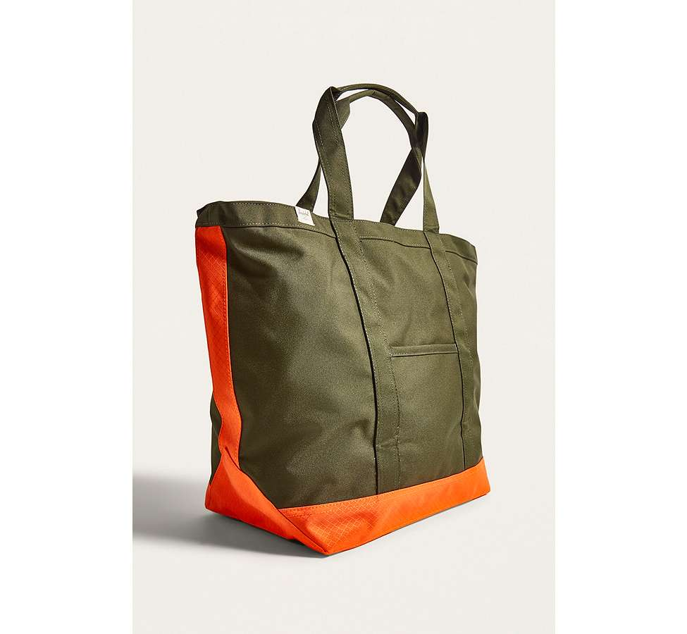 Slide View: 4: Herschel Supply Co. - Fourre-tout Bamfield vert sapin et orange