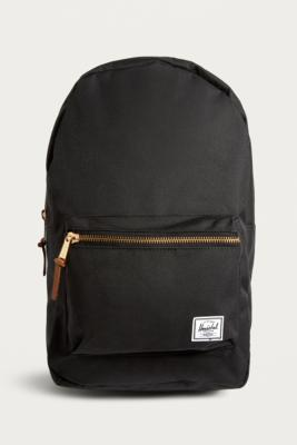Herschel Supply Co. Settlement Black Backpack   Urban Outfitters UK 5311dfb8c2