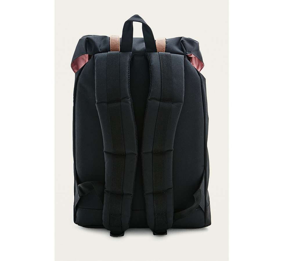 "Slide View: 3: Herschel Supply Co. – Rucksack ""Retreat"" in Schwarz"