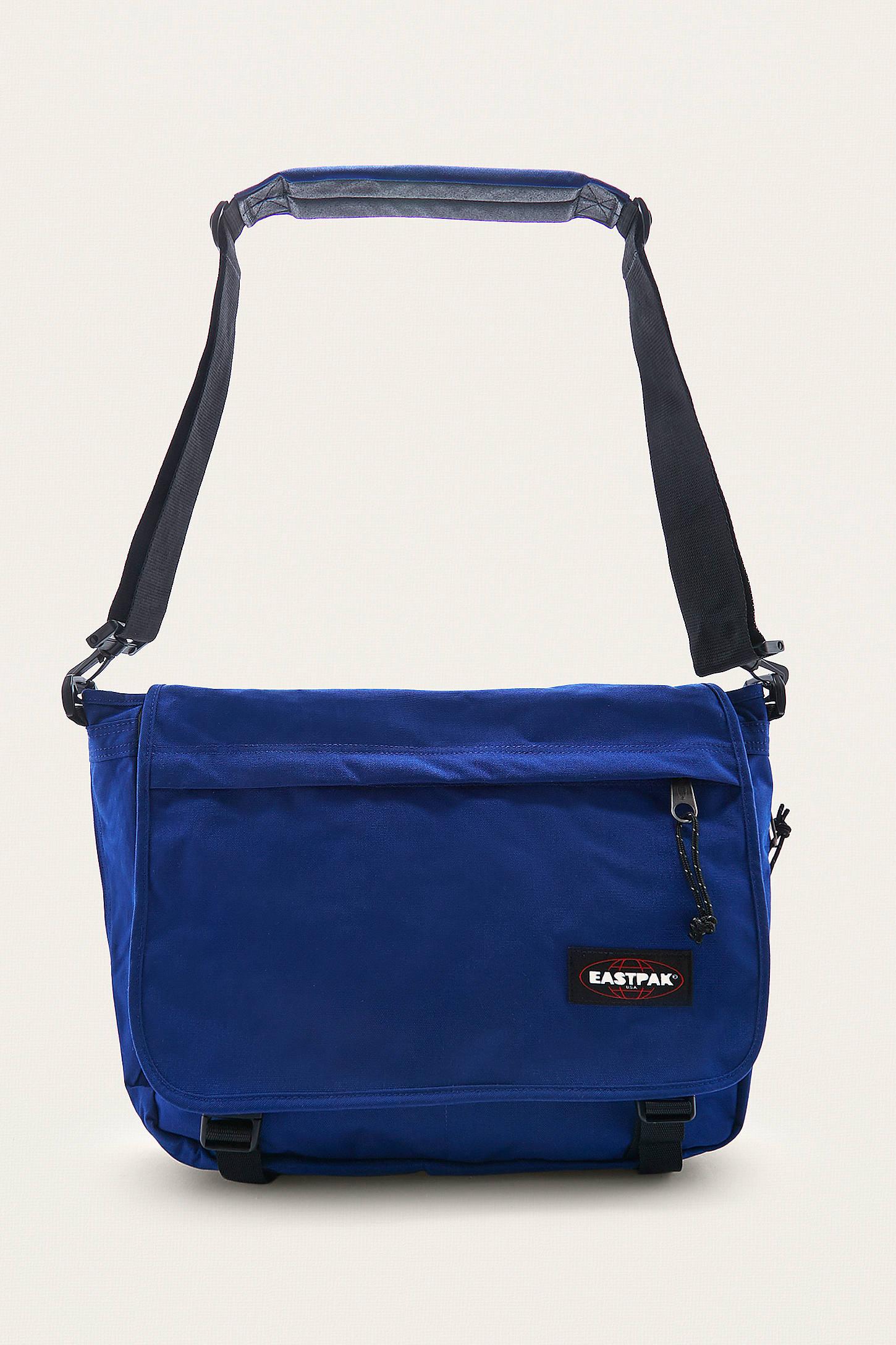 Eastpak Delegate Bonded Blue Messenger Bag | Urban Outfitters