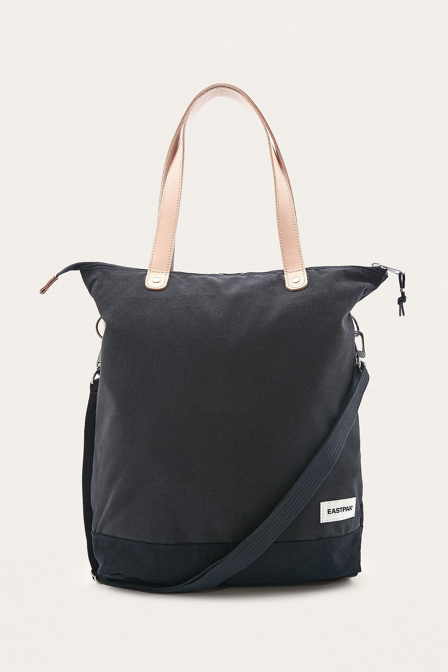 Eastpak Soukie Superb Black Canvas Tote Back  7e95f69513