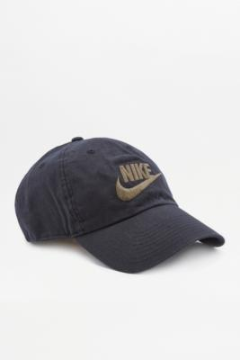 Nike Futura Washed Black Cap Black