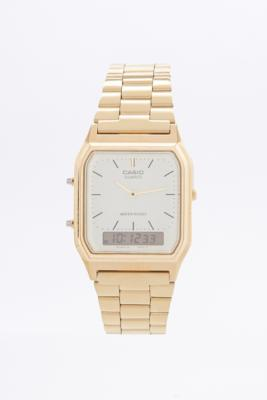 Casio Gold Metal Analog Watch Gold