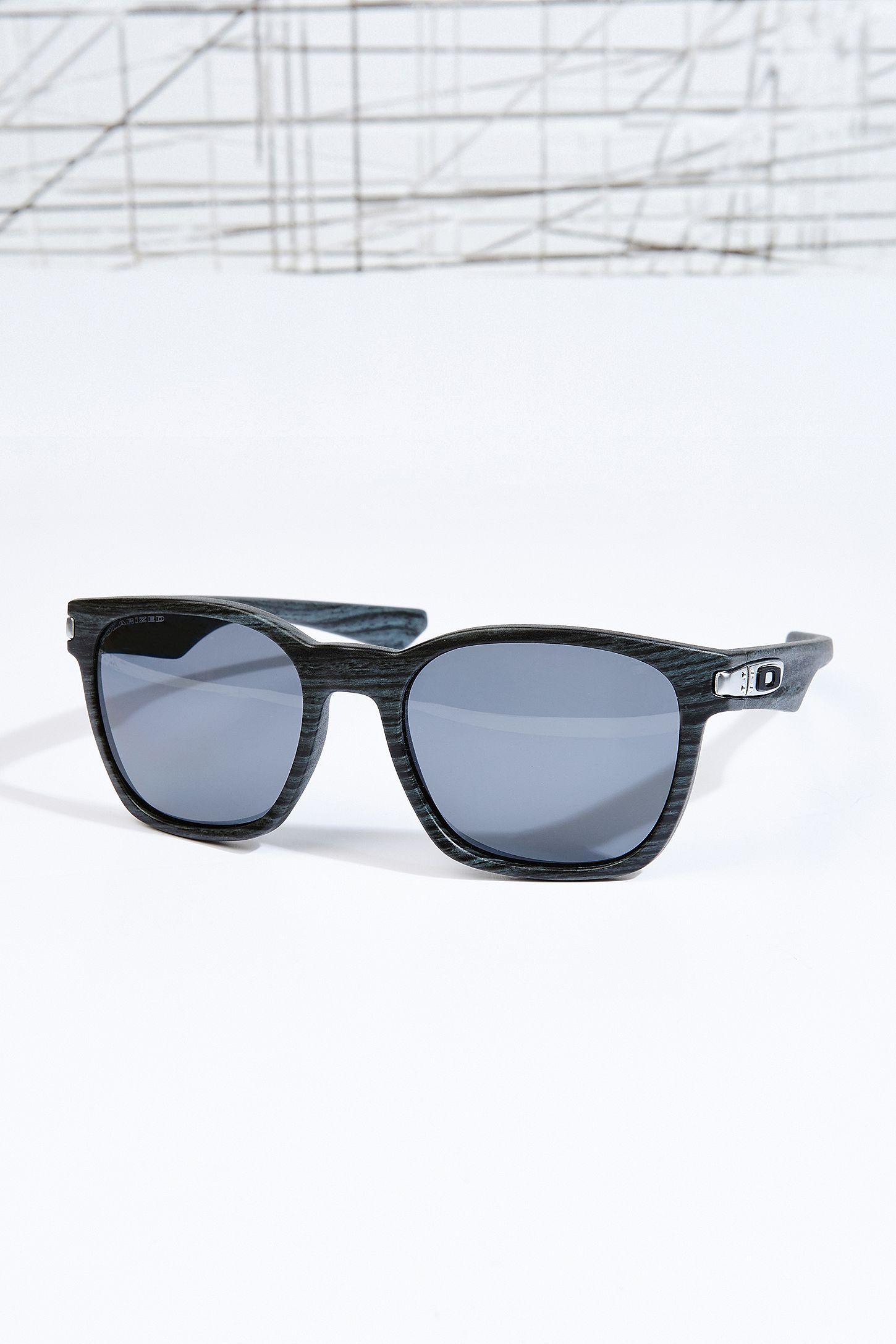 098dc0e7b1e Oakley Garage Rock Wood Grain Sunglasses in Blue
