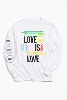 Uo Community Cares + Glsen Pride 2018 Long Sleeve T Shirt by Uo Community Cares