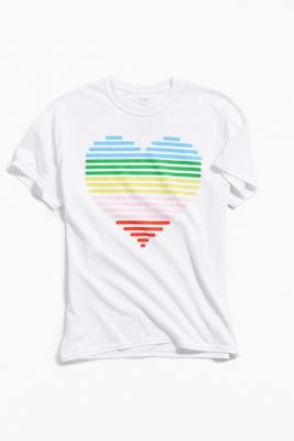 Uo Community Cares + Glsen Pride 2018 Short Sleeve T Shirt by Uo Community Cares
